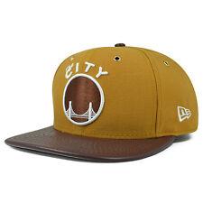 online store e8889 6de37 Golden State Warriors METAL HOOK PEANUT BUTTER Snapback 9Fifty New Era NBA  Hat