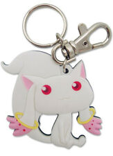 Puella Magi Madoka Magica Kyubey Key Chain Anime Licensed NEW