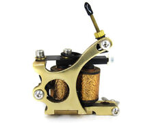 CLASH SHADER Brass 8 wrap Coils Tattoo Machine Professional Art Ink Shop Supply