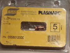 (5 pc) ESAB  0558012000 Air/Oxygen Standard Electrode For PT-36/36TL Plasma Torc