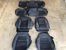 FACTORY ORIGINAL BLACK CLOTH SEAT COVERS CHEVROLET SILVERADO DOUBLE CAB 2019