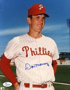 Don Money Phillies Signed Jsa Certified 8x10 Photo Authentic Autograph