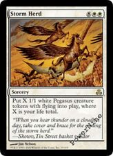 4 PLAYED Storm Herd - White Guildpact Mtg Magic Rare 4x x4