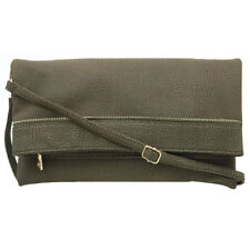 1560 Ladies Leather Sling/Hand Bag (Olive Green)