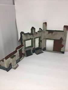 1/35 SCALE RUINED STREET DIORAMA VERLINDEN PRODUCTIONS