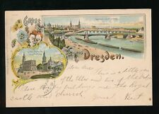 Dresden Pre - 1914 Printed Collectable German Postcards