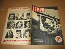 RIVISTA IL TEMPO EDIZIONE ITALIANA NUMERO 195 FEB 1943 TELEMETRISTA DI TRENO