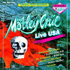 MOTLEY CURE - Live USA / California 1990 (LIVE & Alive) CD Import RARITA'