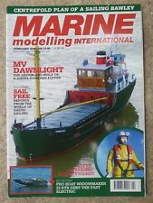 Marine Modelling Int.Mag Feb 2010 &Centrefold plan of a sailing Bawley Issue 275