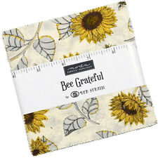 Bee Grateful Moda Charm Pack 42 100% Cotton 5