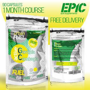 Urban Fuel Garcinia Cambogia Maximum Strength Natural Fat Blocker Slimming Pills