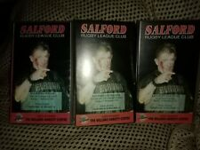 Salford Rugby League Videos VHS