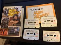 The Best Of Slim Dusty Cassette Tape With Booklet Vintage 1984 *RARE*