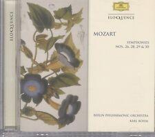 BOHM / BERLIN PHIL ORCH - Mozart: Sym Nos 26 / 28 - 30 CD
