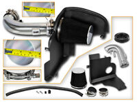 BCP BLACK 11-14 Ford Mustang GT 5.0 V8 Cold Shield Air Intake Kit + Filter