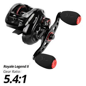KastKing Royale Legend II 5.4:1 Baitcastrolle Linkshänder Rolle Angelrolle 8kg