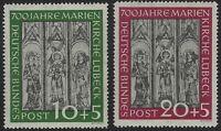 Germany - 1951 - Scott # B316 & B317 - Mint OG Never Hinged - VF