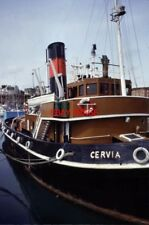 PHOTO  1996 STEAM TUG CERVIA RAMSGATE MARITIME MUSEUM LAUNCHED IN 1946 AS EMPIRE