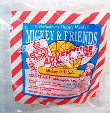 1993 McDonald's Happy Meal Epcott Mickey & Friends Mickey U.S.A. U 3 MIP C10!