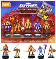 Masters of the Universe Mega Construx 5 Pack Brand New and Factory Sealed MOC