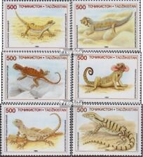 Tajikistan 62-67 (complete issue) unmounted mint / never hinged 1995 Locals Liza