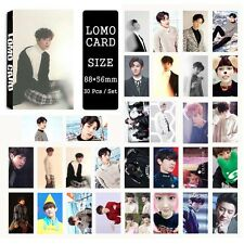 30pcs /set Super cute Kpop EXO CHANYEOL For Life Photocard Poster Lomo Cards