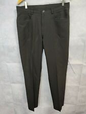 Mens Black Trousers Formal Trousers W32 L29