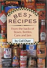 Best Recipes from the Backs of Boxes, Bottles, Cans and Jars Cookbook BOOK