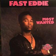 FAST EDDIE • Most Wanted • Vinile Lp • 1989 DJ INTERNATIONAL