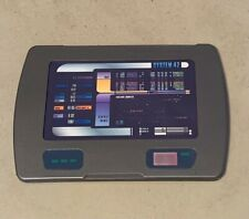 More details for star trek voyager large padd replica (painted) cosplay