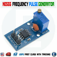 NE555 Duty Cycle Pulse Frequency Adjustable Square Wave Generator Module
