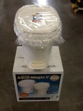 Thetford Aqua Magic V FOOT Flush HIGH , PARCHMENT RV Trailer Toilet NEW 31672