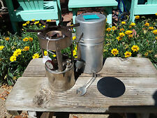 Coleman model 530 Pocket stove - rebuilt - working condition Dated A 47 1947