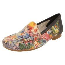 Zapatos planos de mujer Rieker color principal azul