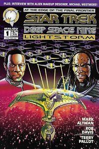 Star Trek Comic 1 Deep Space Nine Lightstorm Cover A 1994 Altman Davis Malibu .