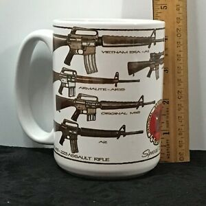 NRA Special Edition Weapons 2nd Amendment Mug Robert Burrows by Cuppa 2000 USA