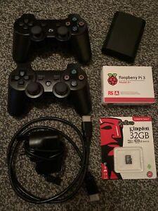 Raspberry Pi 3 Model B+ Gaming Pack 64 Bit Quad Core Bluetooth Sd Card Pads Wire