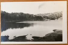 1910 SIX MILE CREEK DAM ITHACA NY RPPC Real Photo DRYDEN NY Cayuga Lake Inlet