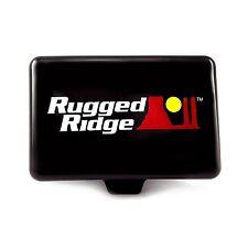 "15210.55 Rugged Ridge 5""x7"" Black Fog Light Cover Jeep Wrangler CJ YJ TJ JK"