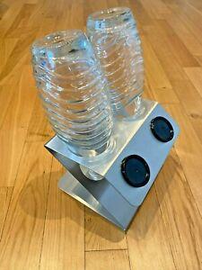 SodaNature | 2er Edelstahl Abtropfhalter/Flaschenhalter für SodaStream- Z-Shape