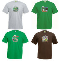Ivor The Engine T-Shirt. Classic Vintage Kids TV Show Retro Gift for him or her