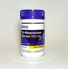 Blooms Tri Magnesium Citrate 900mg 150 Capsules