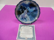 """*Bradford Exchange """"Legend Of The Lake"""" Collectors Plate Free Ship"""