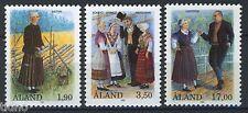 Aland/Åland 1993, Folk dresses, Full set MNH
