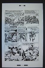 Original Production Art JOURNEY INTO MYSTERY #95 page 2, JACK KIRBY art, Thor