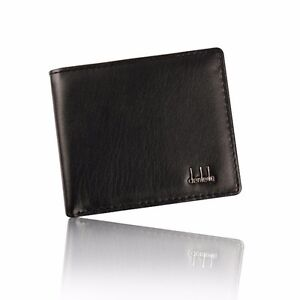 Mens Leather Wallet RFID Safe Contactless Card Blocking Holder High Quality UK