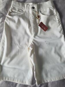 LORO PIANA high waisted  bermuda shorts IT 38/UK 6