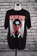 "NEW ""FALSE GOD"" TSHIRT Size XLT Dawn of Justice DC Comics Batman VS Superman"