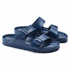 Birkenstock Arizona Eva Scarpe Uomo Sandali Pantofole Blu 0129431 Moda EUR 43
