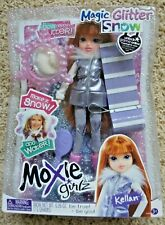 NEW Moxie Girlz KELLEN Magic Glitter Snow Doll 2011 Sled